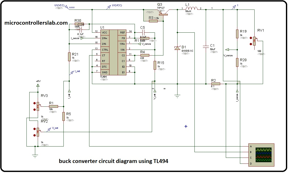 Pulse Width Modulation Circuit Diagram | How To Use Tl494 Pulse Width Modulation Control Ic