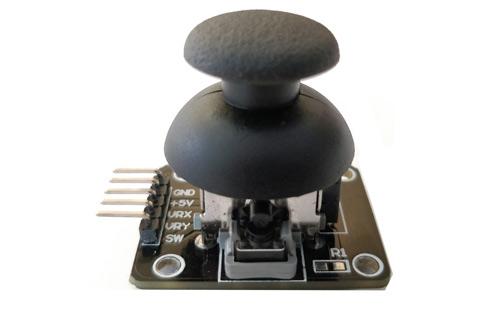 Joystcik module interfacing circuit