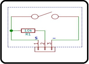 pin configuration of shock sensor module