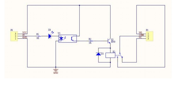relay module circuit diagram