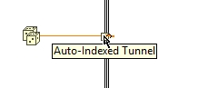 Auto-indexed tunnel