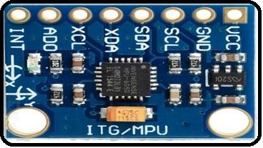 MPU6050 sensor module