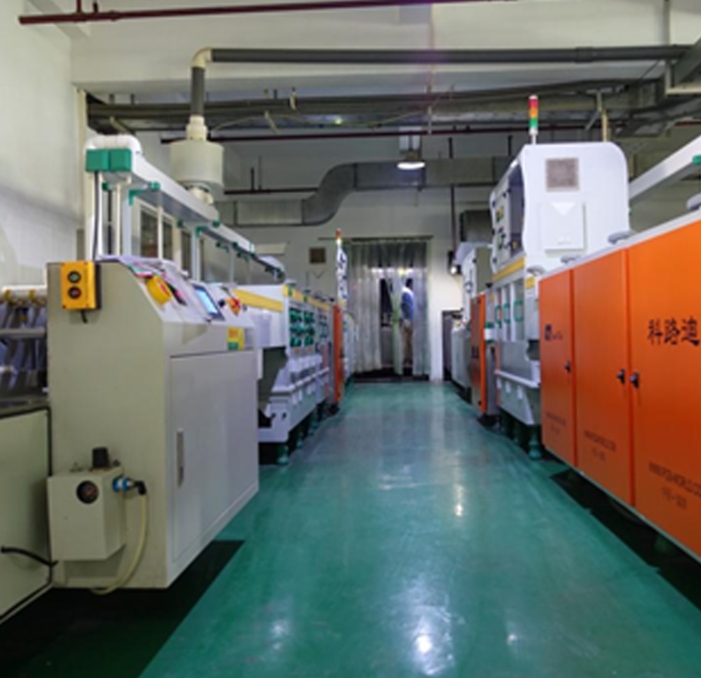 Pcb Manufacture Process In Jlcpcb Factory Microcontrollers Lab Manufacturing The Printed Circuit Board Exposed Copper Areas From Corrosion And To Provide A Solderable Surface When Assembling Soldering Components
