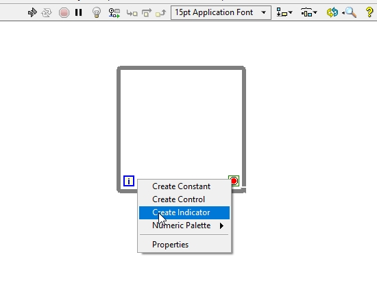 iteration indicator shift registers in labview