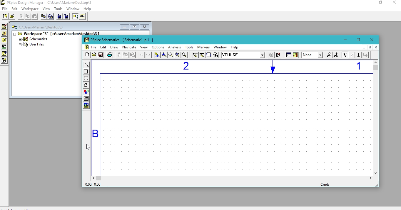 Simulate Rc And Rl Circuits In Pspice Tutorial 3 Microcontrollers Lab Rlc Series Circuit Details