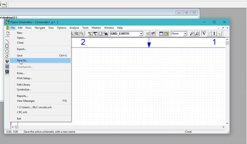 Digital encoder simulation using Pspice : tutorial 15