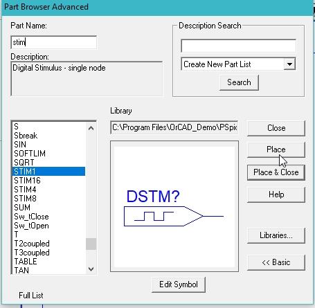 Digital encoder simulation using Pspice : tutorial 15