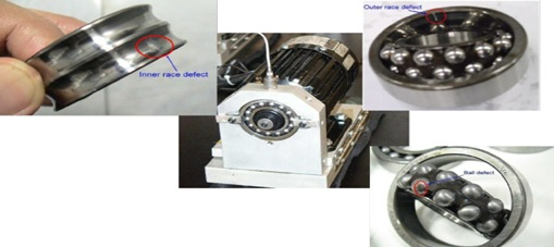 4 types of faults in induction motor