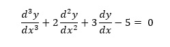 differential equations solving simulink exercise