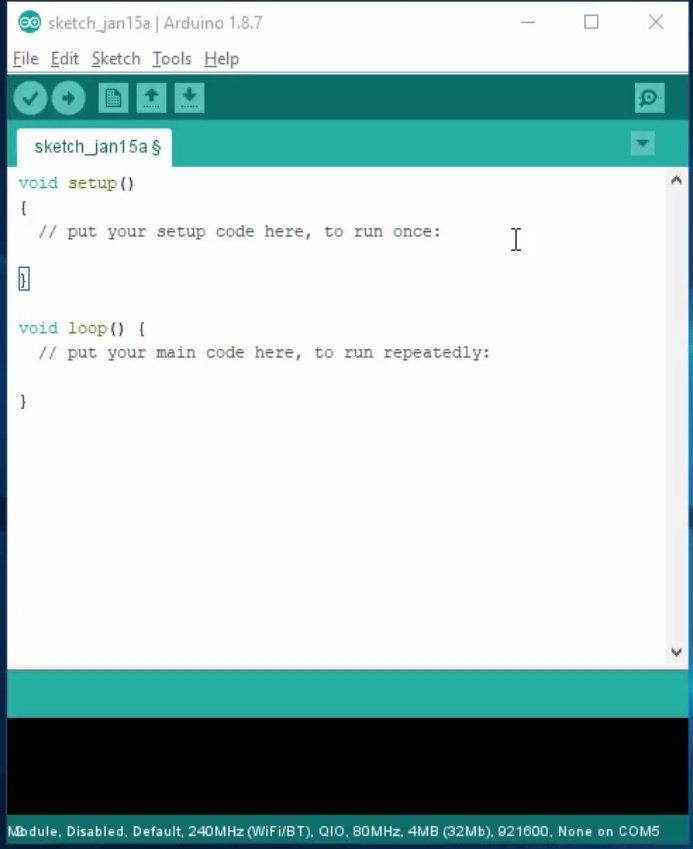 installing ESP32 in Arduino IDE 01