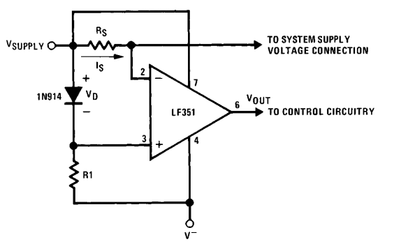supply current limiter example