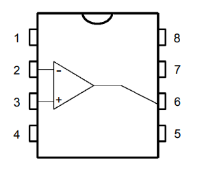 LM201 pin configuration single channel IC