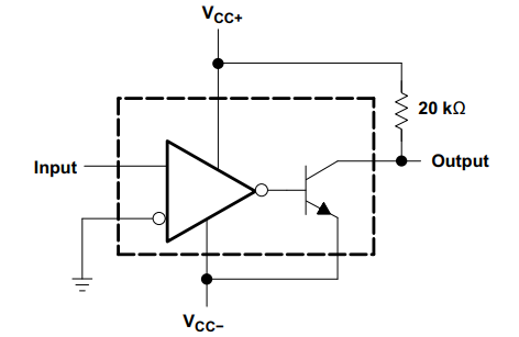 LM311 zero crossing detector exampe