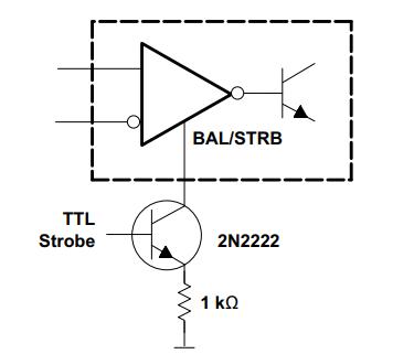 Off-set Balancing Example LM311