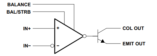 simplified schematic LM311