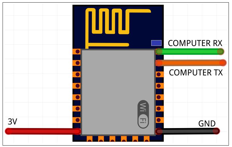 ESP12E Circuit