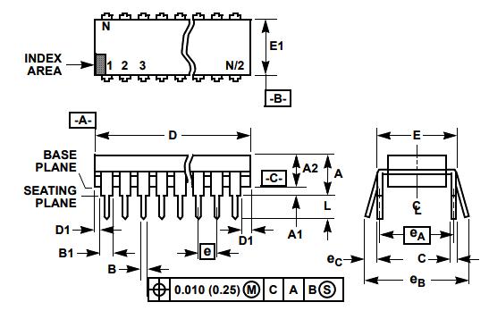 2D model diagram