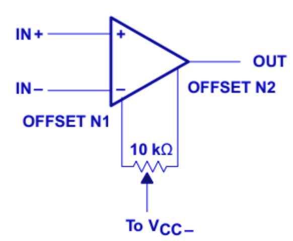 LM741 op amp configuration circuit