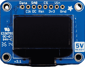 SSD1306 Monochrome 0.96 OLED Display
