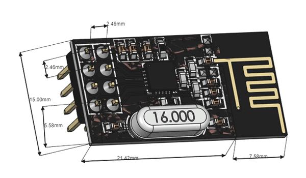 RF module 2D diagram