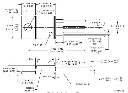 negative voltage regulator 2D Diagram