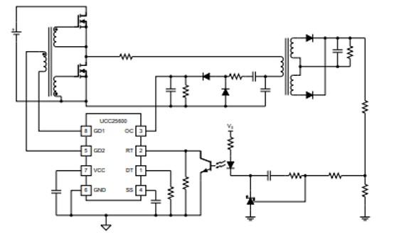 UCC25600 Example Circuit