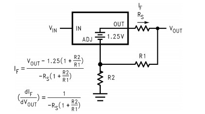 LM1084 battery charger Circuit example