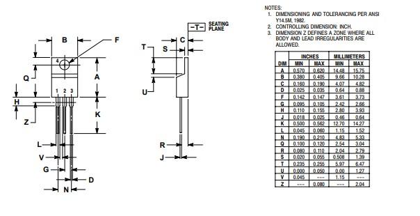 LM350T 2D Diagram