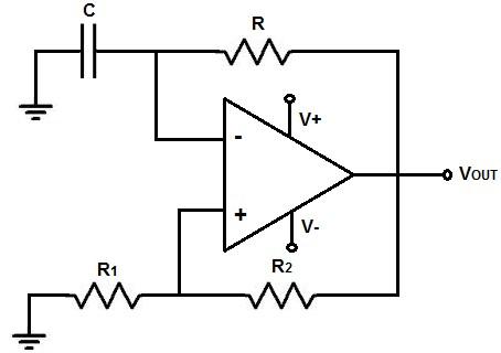 LM4558 multivibrator circuit example