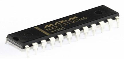 MAX7219 8 digit Display Driver IC