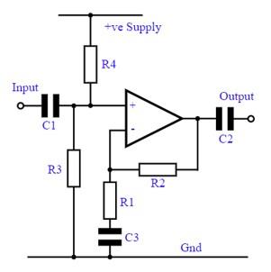 NJM4560 example circuit