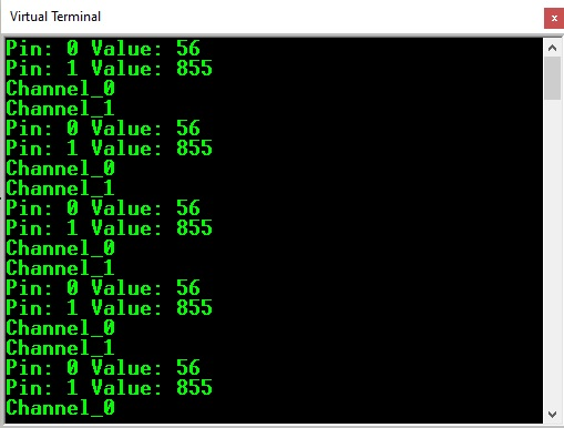 Arduino FreeRTOS Queue structure Serial monitor tasks output