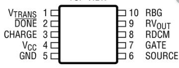 LT3750 pinout diagram
