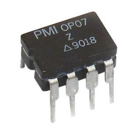 OP07 Single operational Amplifier IC