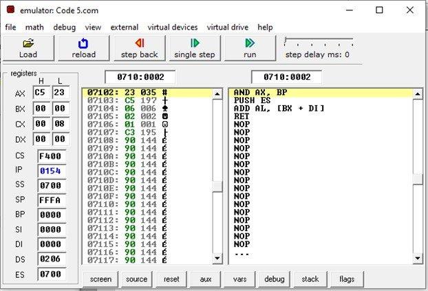 8086 data transfer LDS instruction