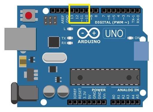 Arduino SPI Communciation Pins