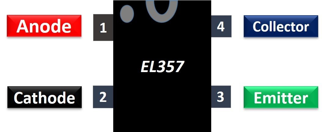 EL357 optocoupler pinout