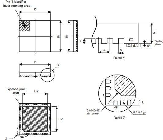 STM32F103C8T6 2D Diagram