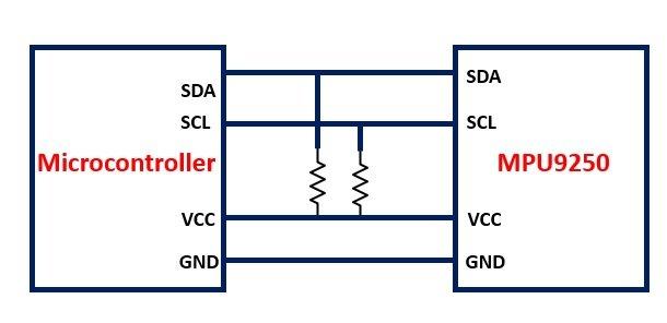 MPU9250 9-axis Digital Motion Processor interfacing with Microcontroller