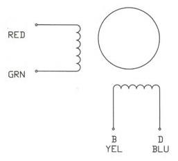 NEMA34 Stepper Motor internal windings