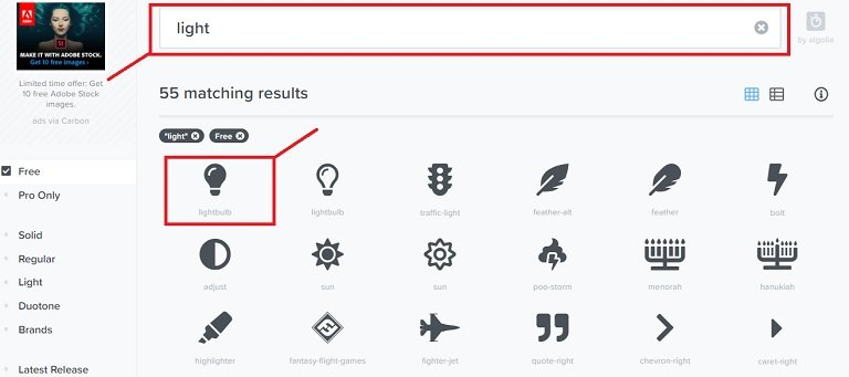 Add icons to web server 1