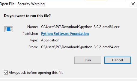 Download Python3 for Micropython upycraft IDE installation on windows