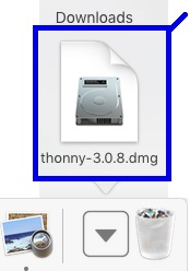 Installing Thonny IDE Mac OS X 7