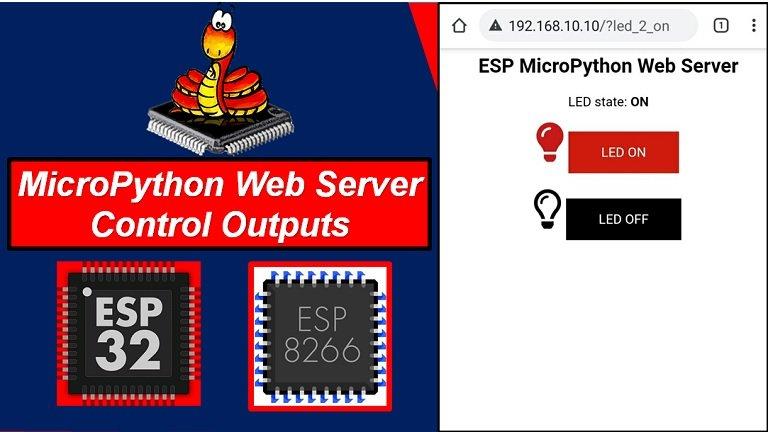 MicroPython ESP32 ESP8266 Web server
