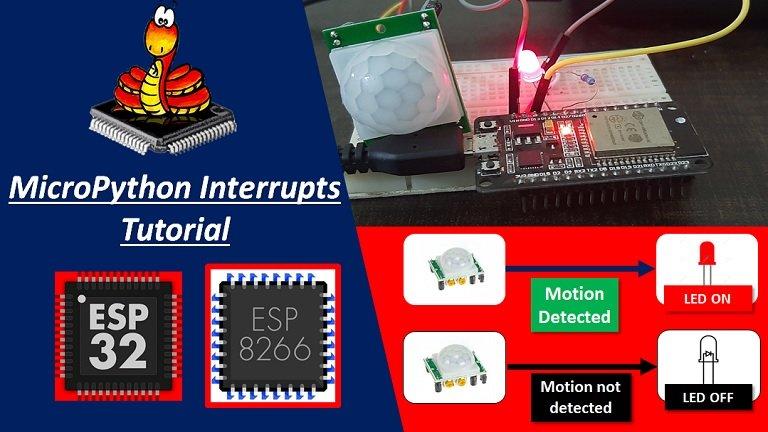 MicroPython Interrupts with ESP32 and ESP8266