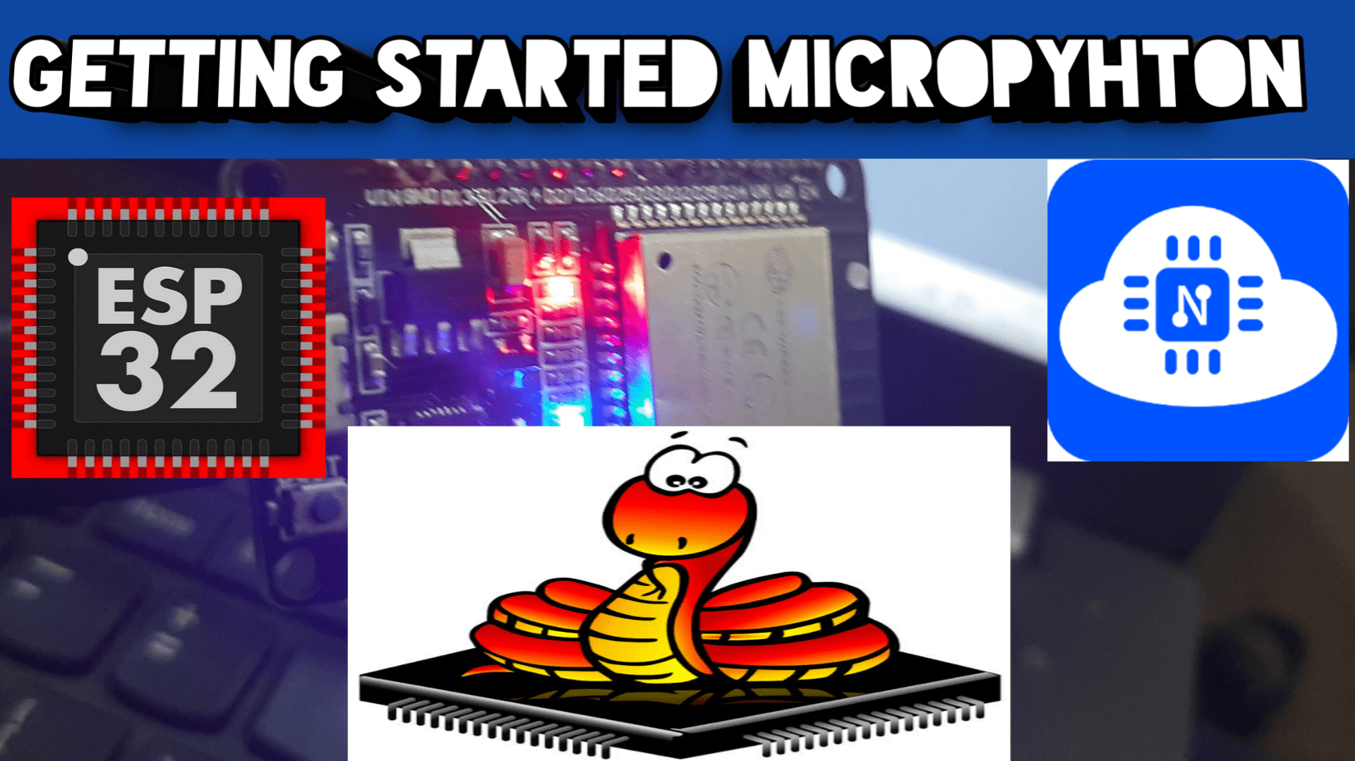 MicroPythoon with ESP32 and ESP8266