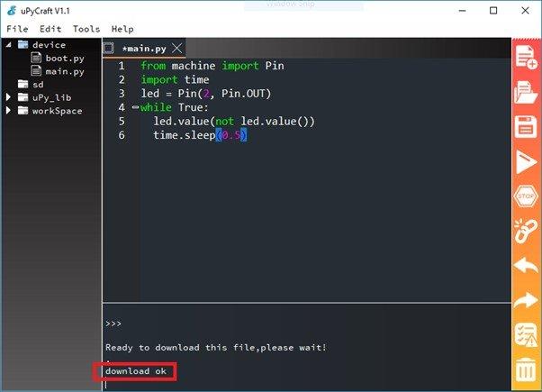 download code upycraft IDE