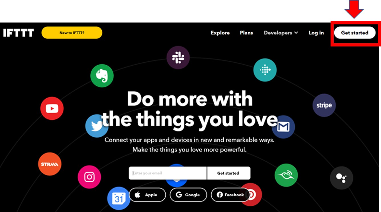 Getting started with IFTTT 1