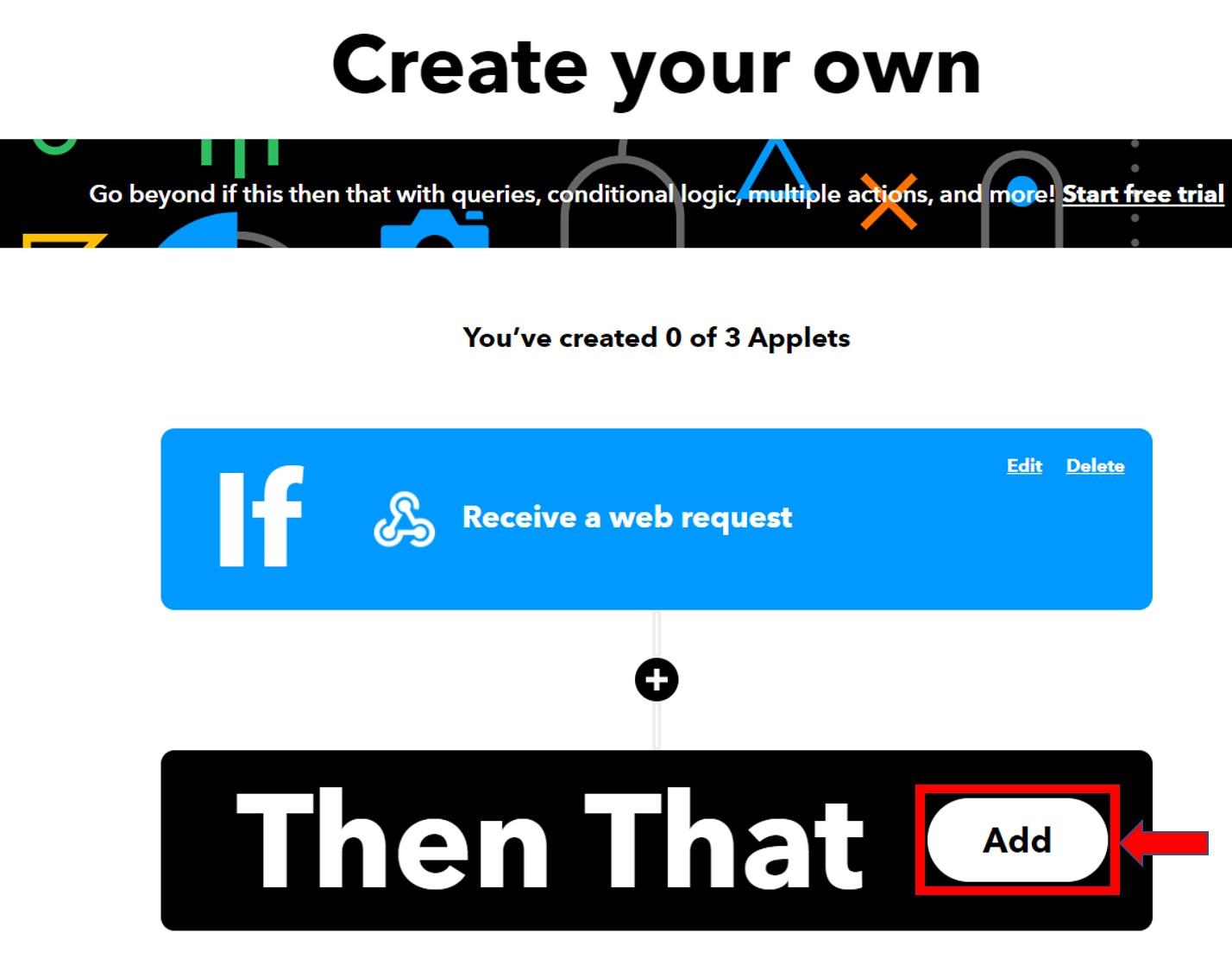IFTTT create gmail service 10