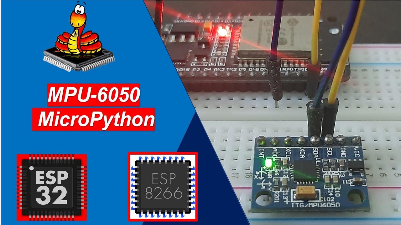 MicroPython MPU-6050 ESP32 ESP8266